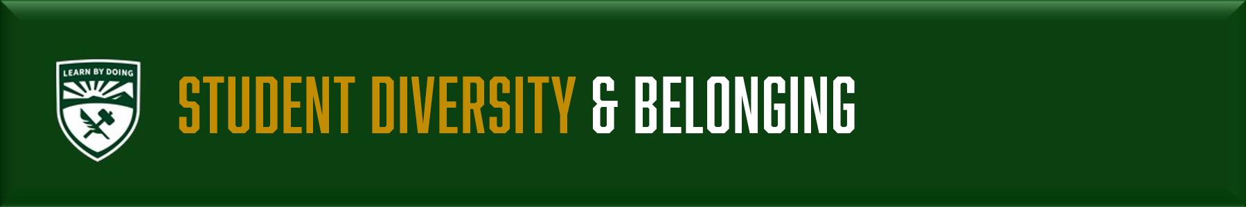 Student Diversity & Belonging