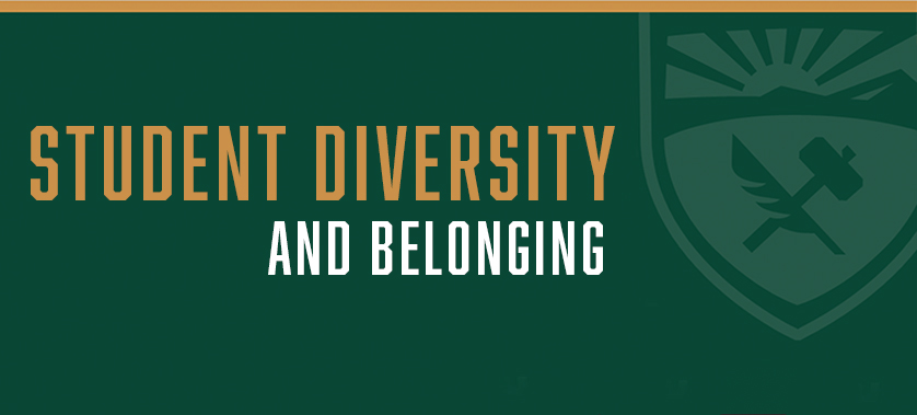 Banner: Student Diversity and Belonging