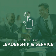 Center for Leadership & Service link