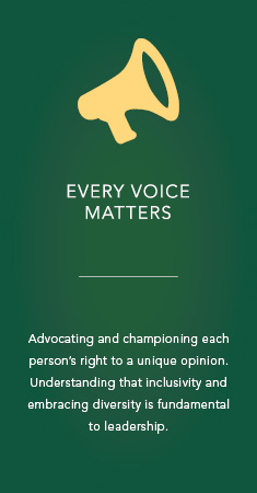 Every voice matters icon