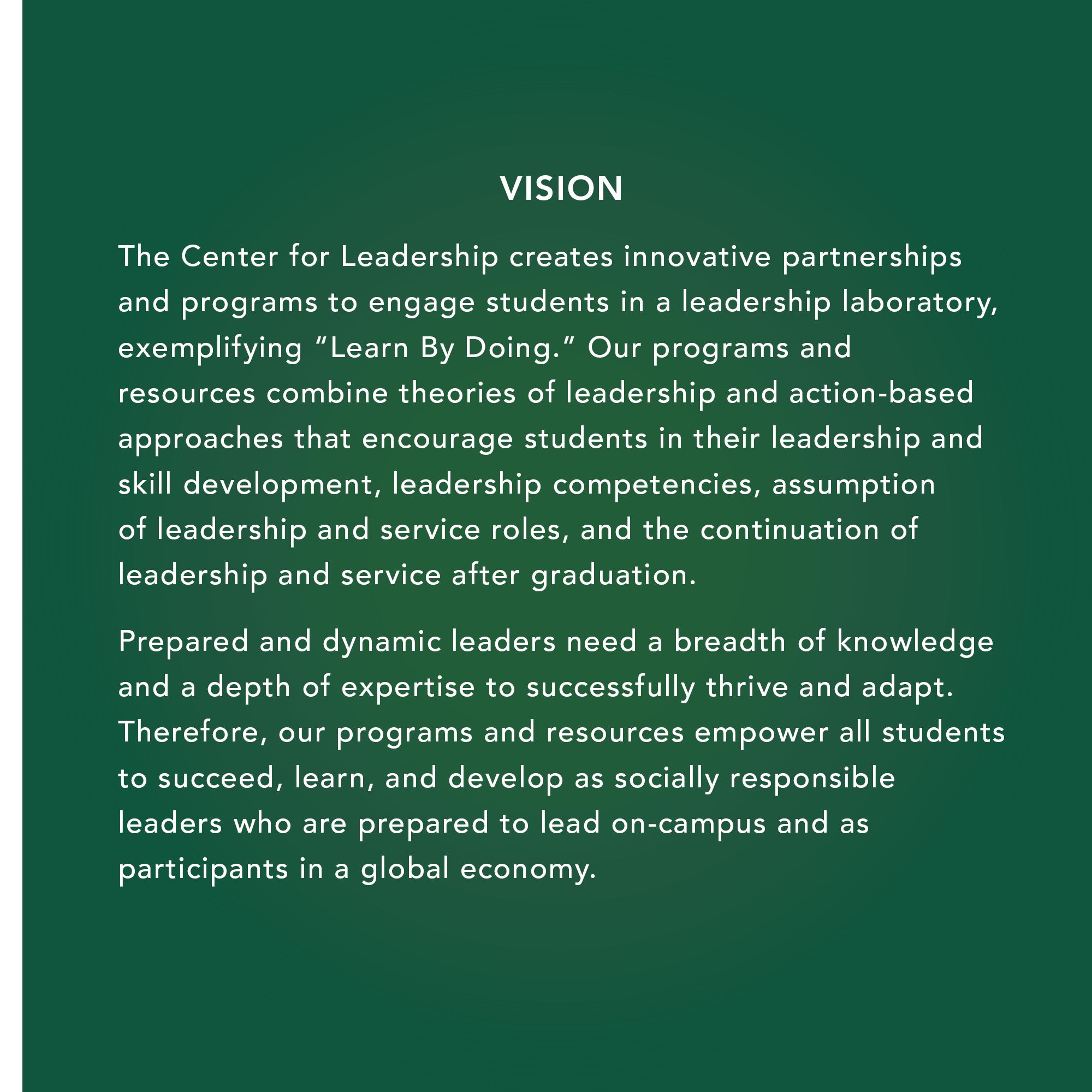 Importance of leadership and community service essay