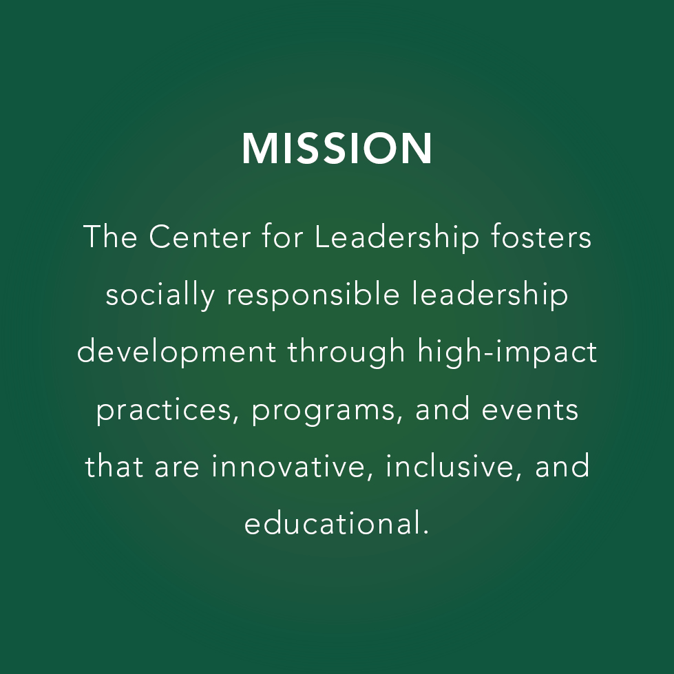 Mission-We are forging the inspirational leaders of tomorrow within our Cal Poly community.