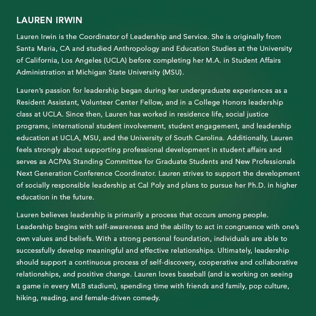 A description of Lauren