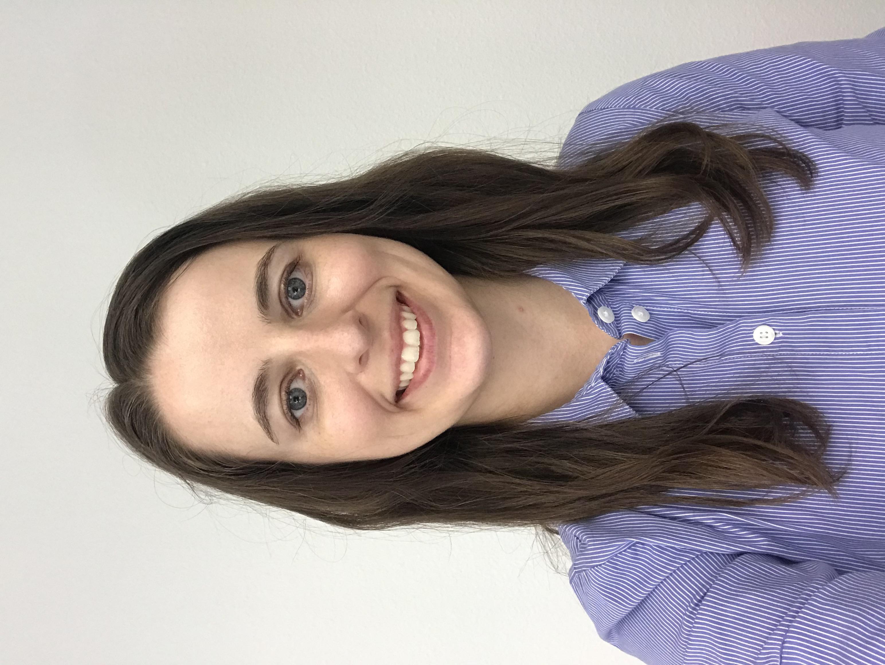 Lauren Utterback smiling