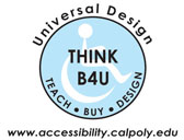 The Cal Poly Accessibility Resources Site