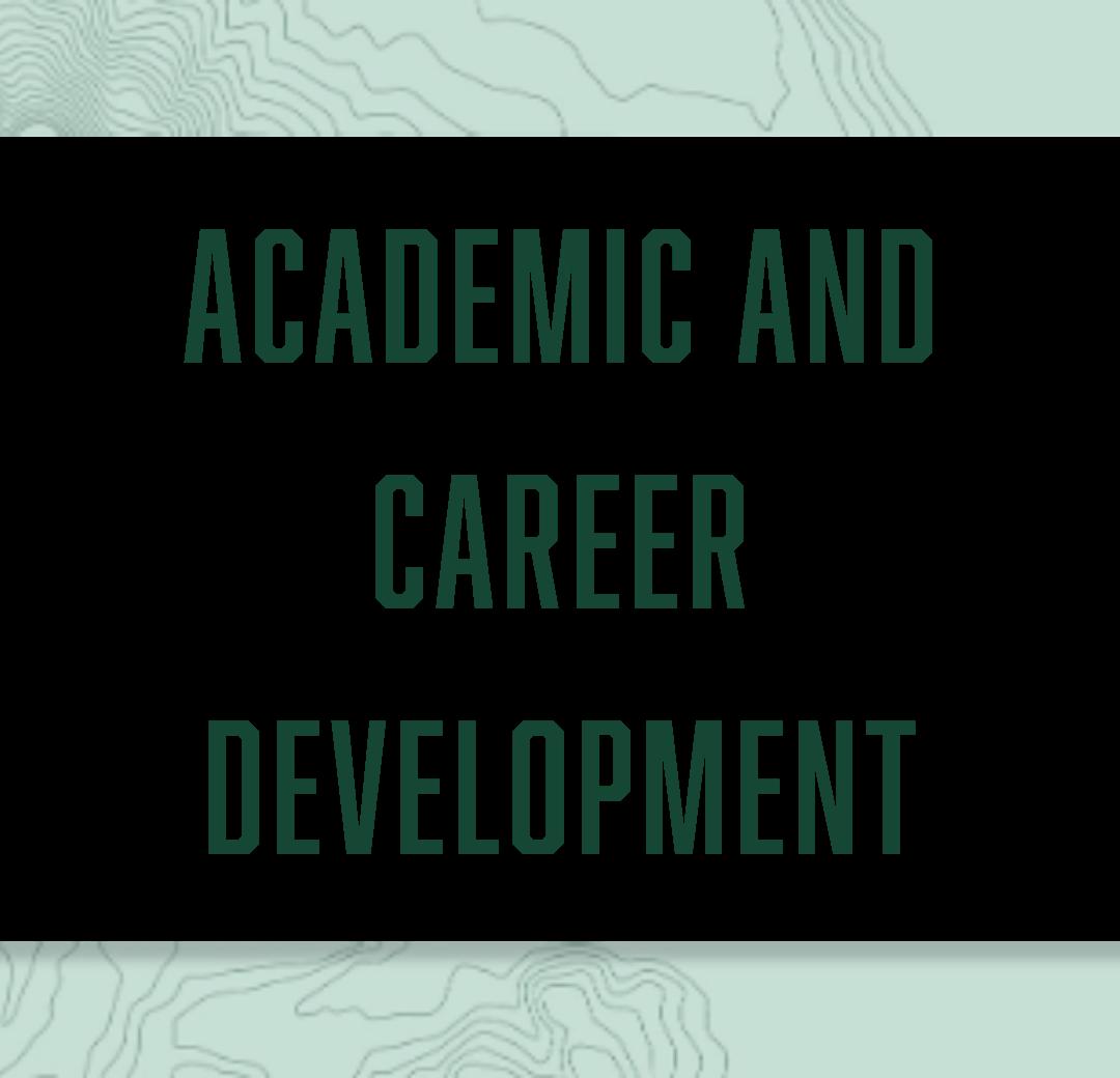Academic and Career Development