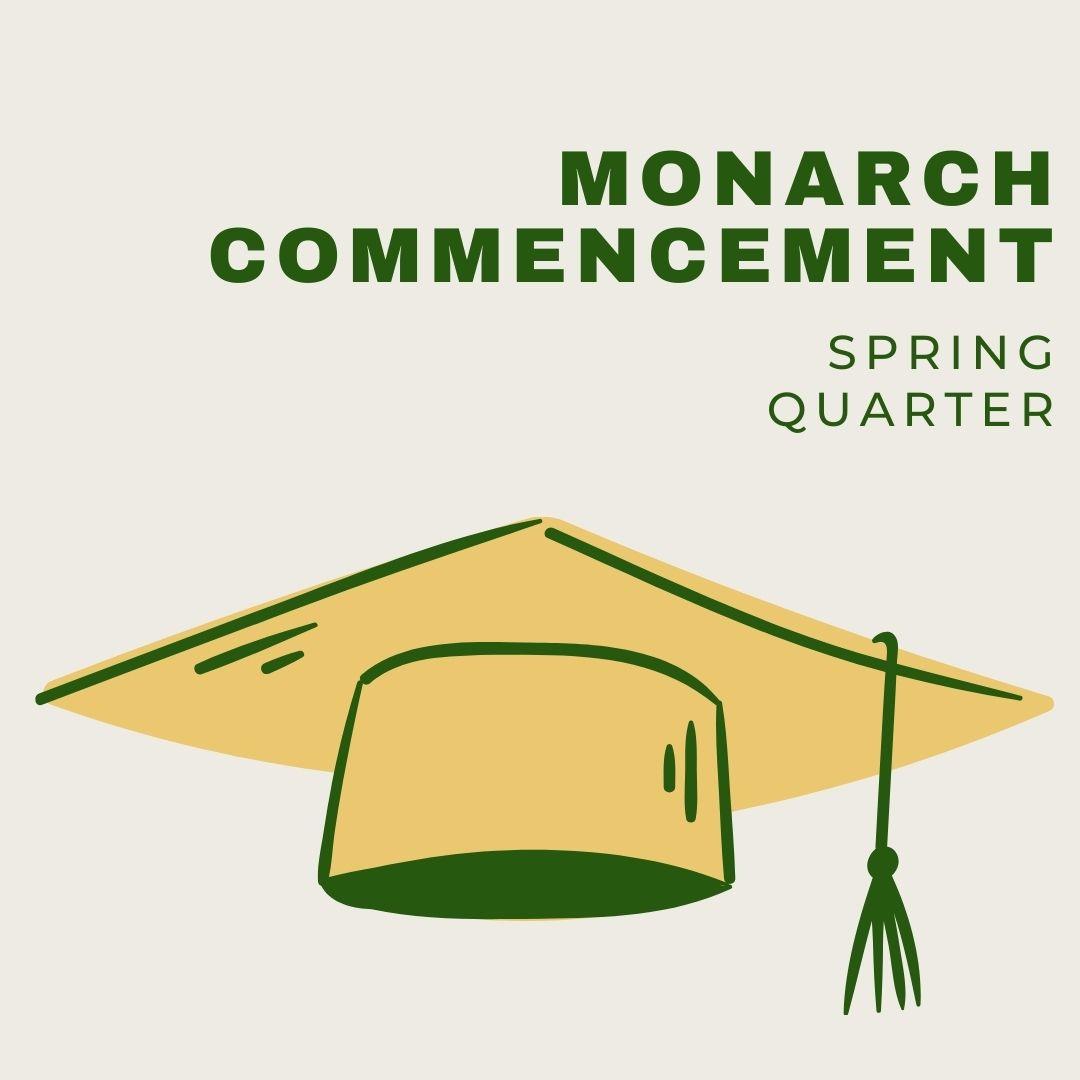 Monarch Commencement Flyer