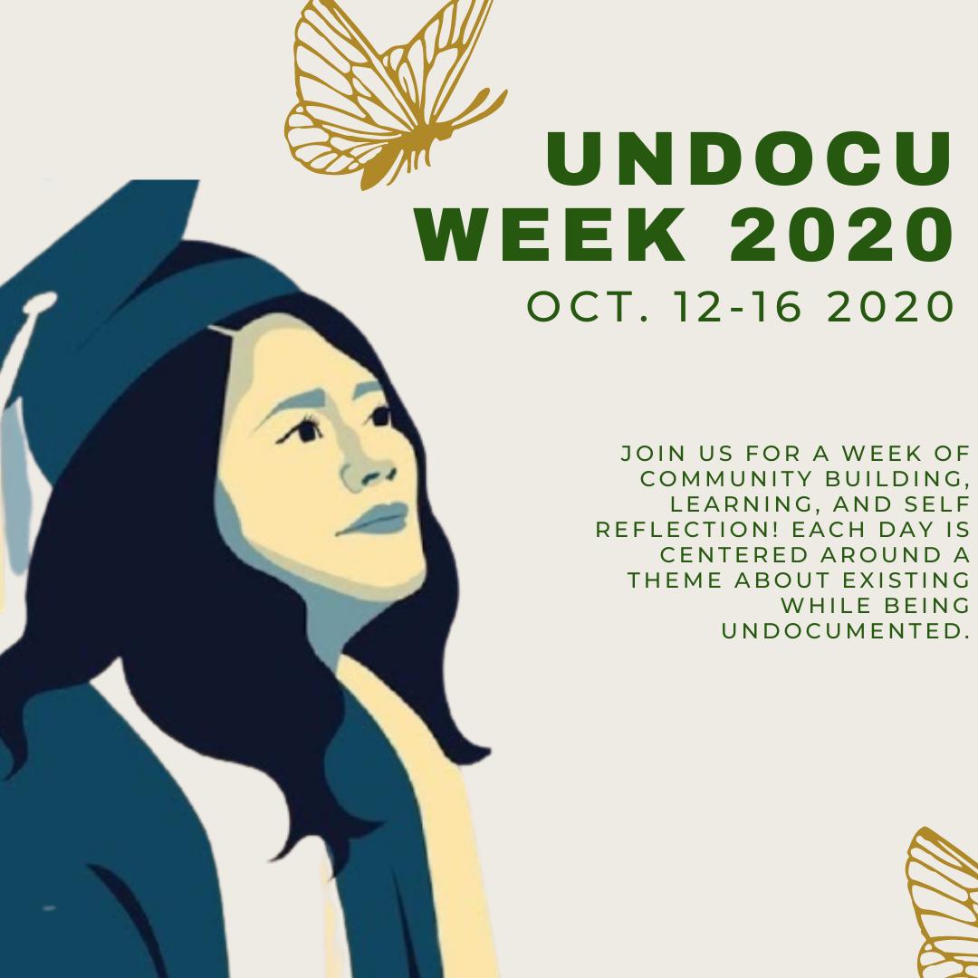 Undocu Week 2020 Flyer