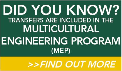 Transfer Students are MEP, Find out More