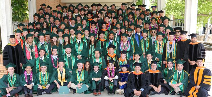 EE graduating class group photo