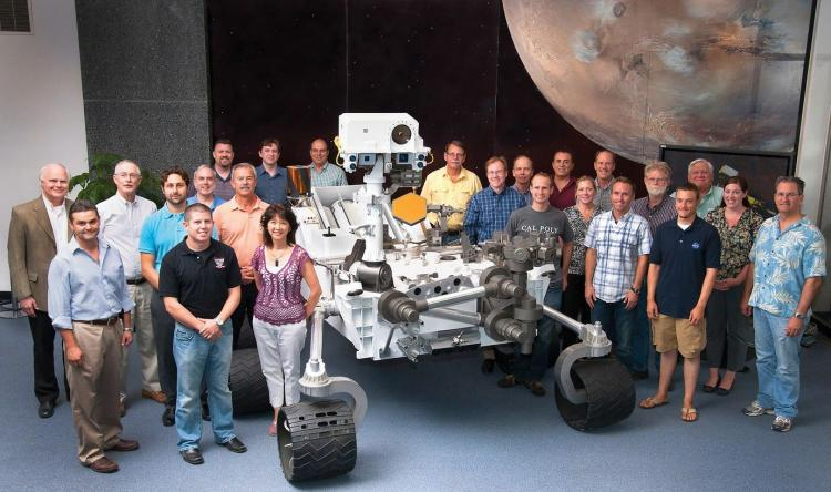 JPL Mars team of Cal Poly alumni