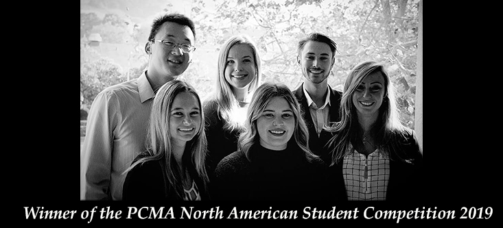 PCMA North American Student Competition Winners
