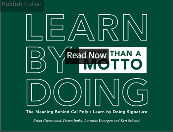 ebook The Meaning behind Cal Poly Learn by Doing Signature