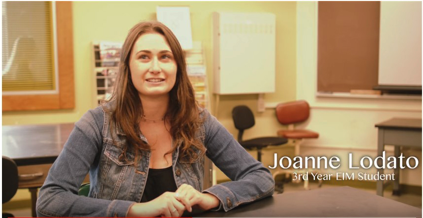 Joanne Lodato current student leader