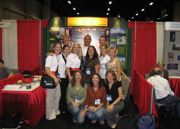 NRPA Booth in San Antonio,          TX in October 2005