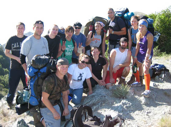 Rec 325 Backpacking trip