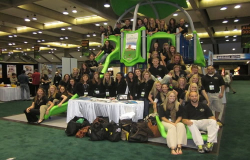 Group picture of RPTA students and faculty at CPRS 2011