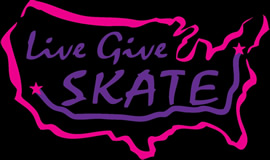 Logo for LiveGiveSkate