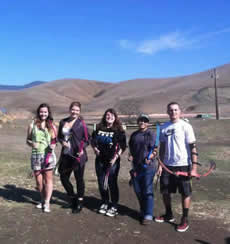 RPTA Club members recreate together at SLO archery range