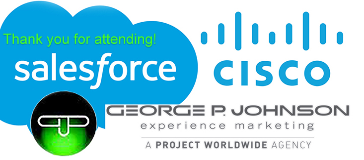 Industry leaders Cisco, Salesforce, and George P. Johnson Q&A with Cal Poly Students