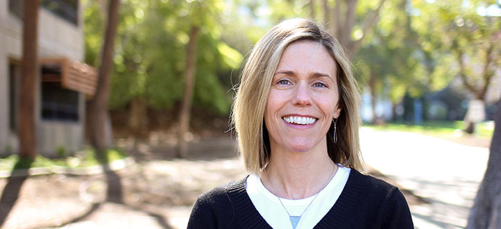 Kathryn Rummell, Chair of Cal Poly English Department