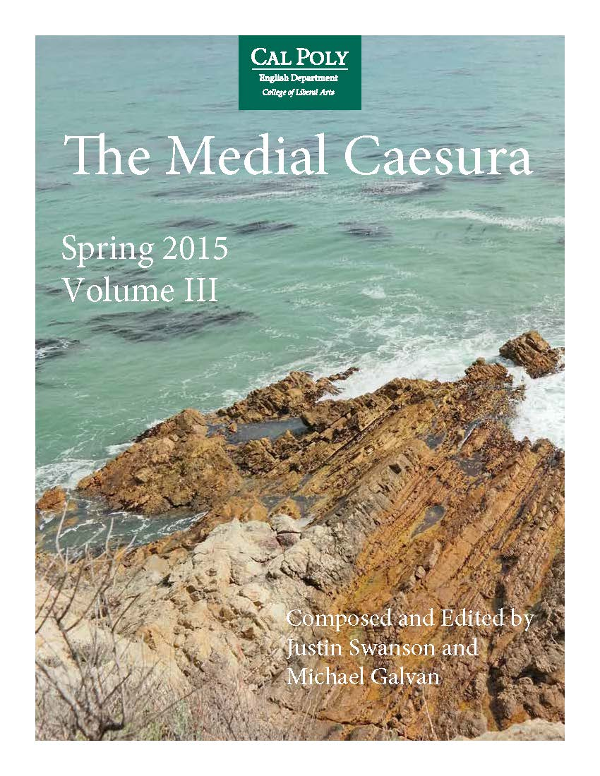 Medial Caesura Issue 3, 2015