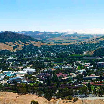 Only Connect! Newsletter Fall 2015 - Cal Poly from the hills