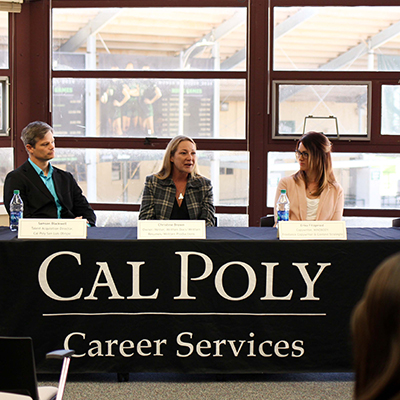 Cal Poly English Career Week Panel