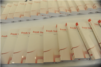 Fresh Voices book copies