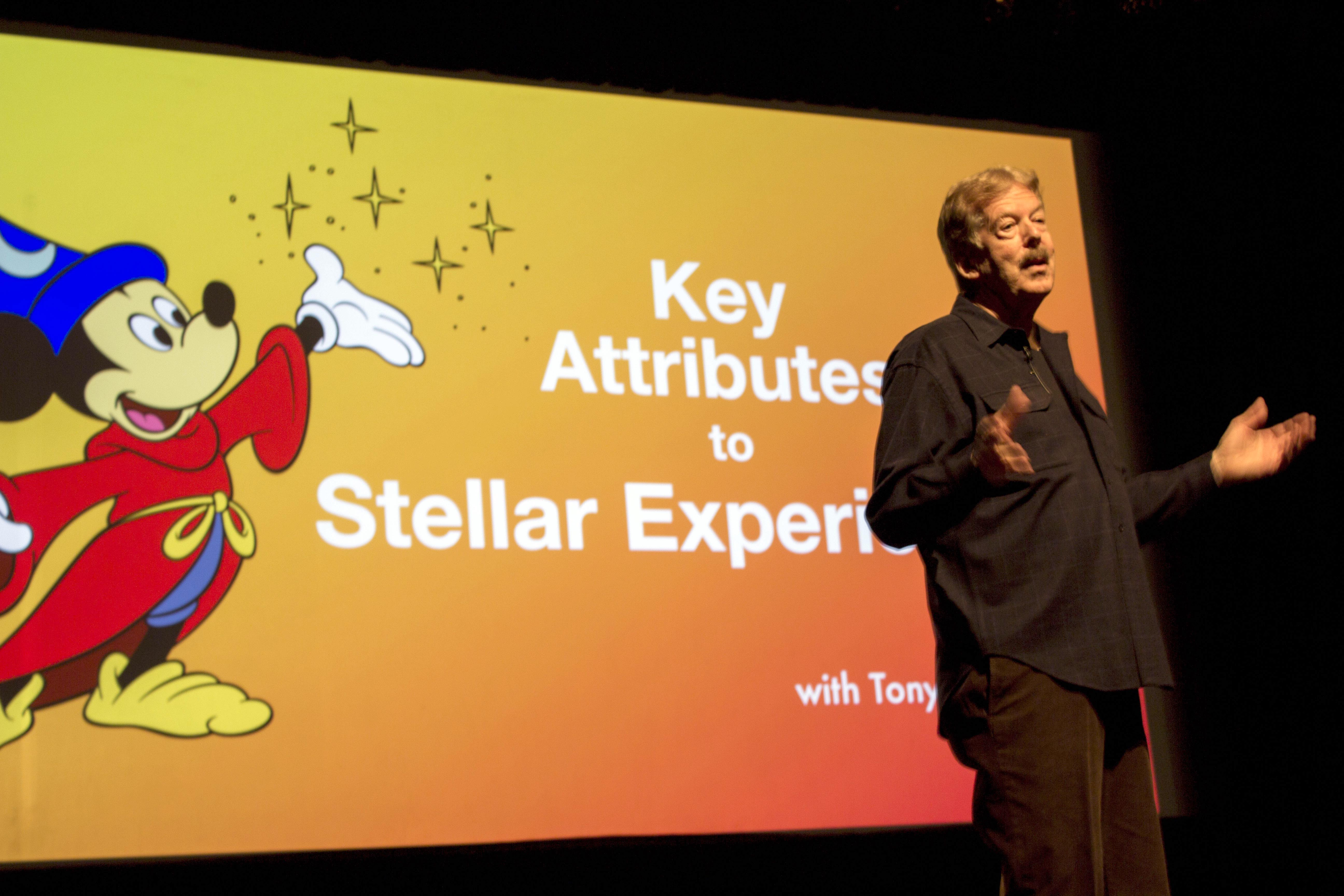 Tony Baxter, former Disney Imagineer