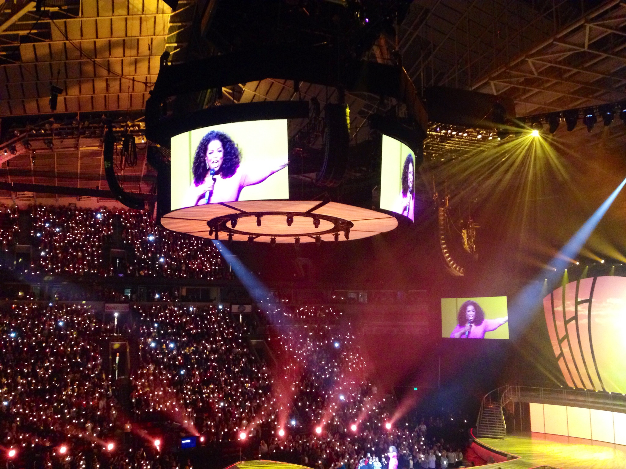"Oprah's ""The Life You Want"" Tour"