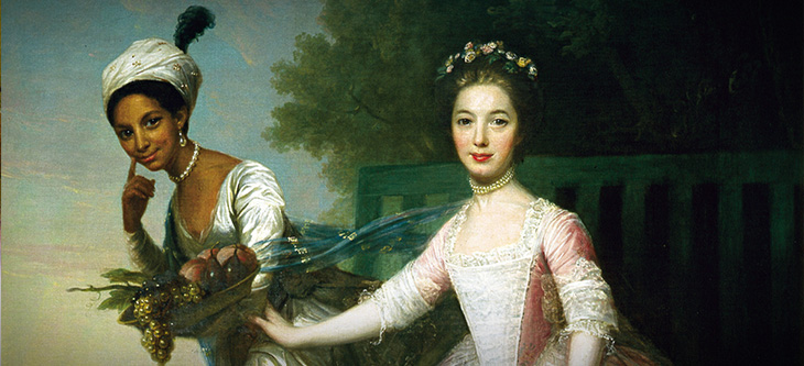 Dido Elizabeth Belle and Lady Elizabeth Murray