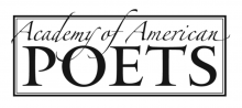 Academy of American Poets contest