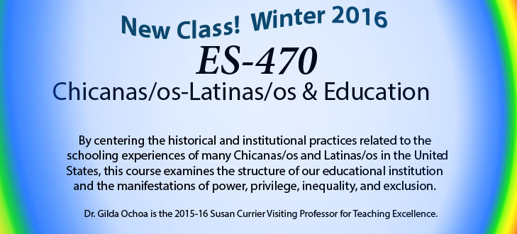 Chicanas/os-Latinas/os & Education