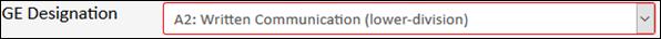 Written Communication (Lower-division)