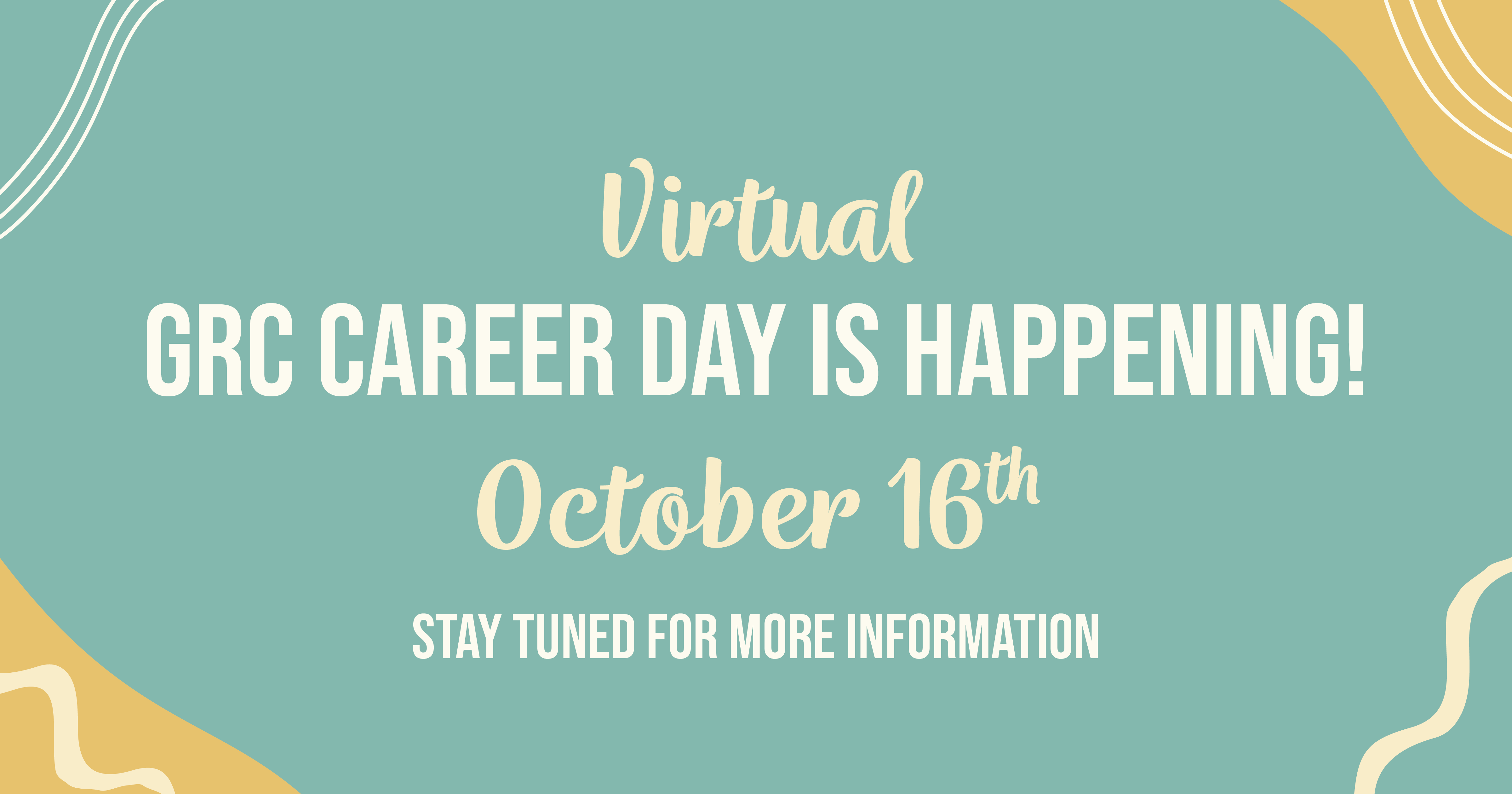GrC Virtual Career Day, Graphic Communication Career Fair Registration