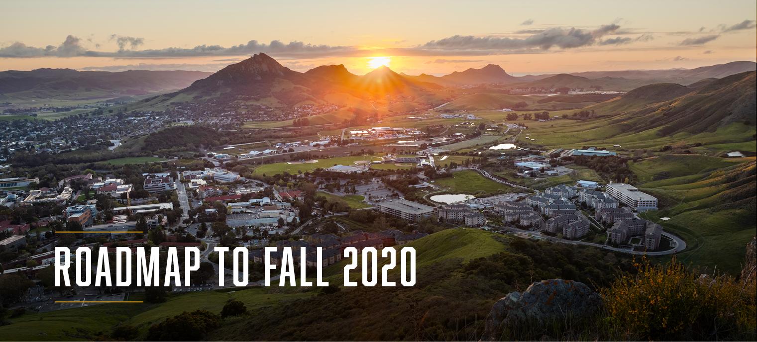 Roadmap to Fall Quarter