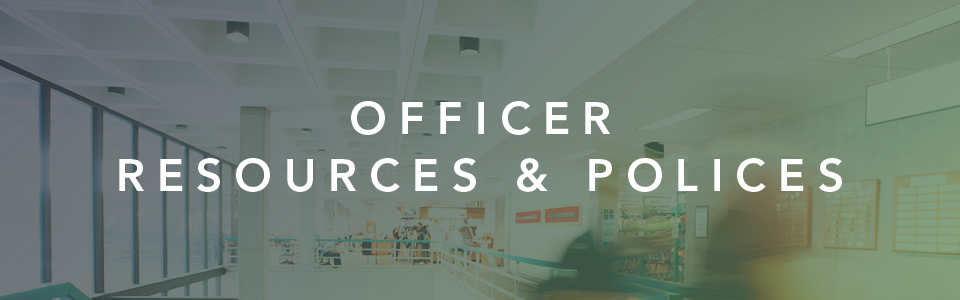 officer resources and policies