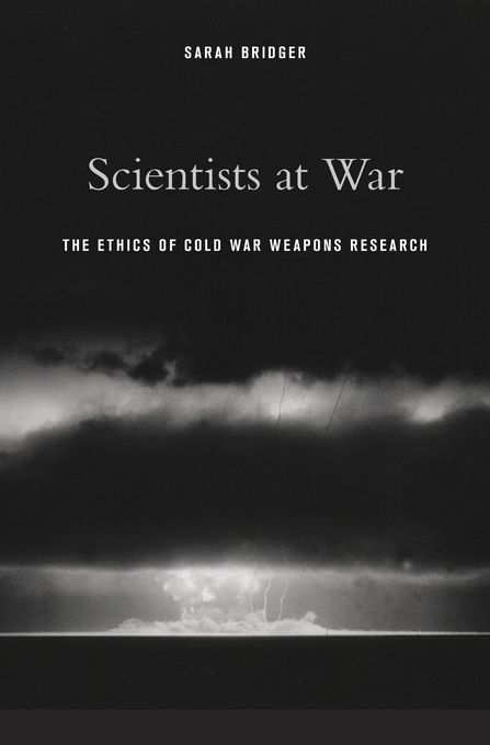 """Scientists at War"" book cover"