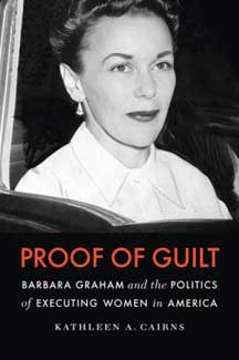 Book Cover, Proof of Guilt by Dr. Kathleen Cairns