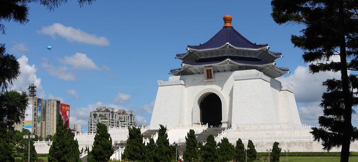 Chiang-Kai-Shek Memorial temple, Taipei, Taiwan