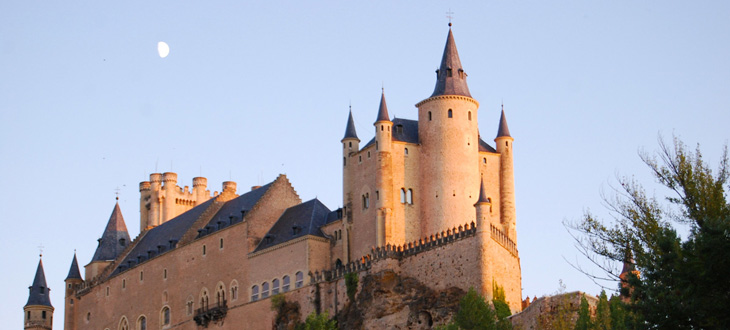 Alcazar Castle, Segovia, Spain