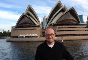 Dr. Matt Hopper in Sidney, Australia