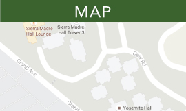 sierra madre and yosemite map