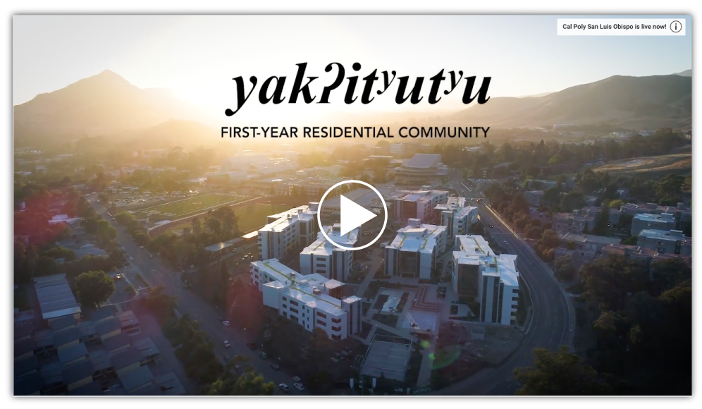 yakʔitʸutʸu  new housing video