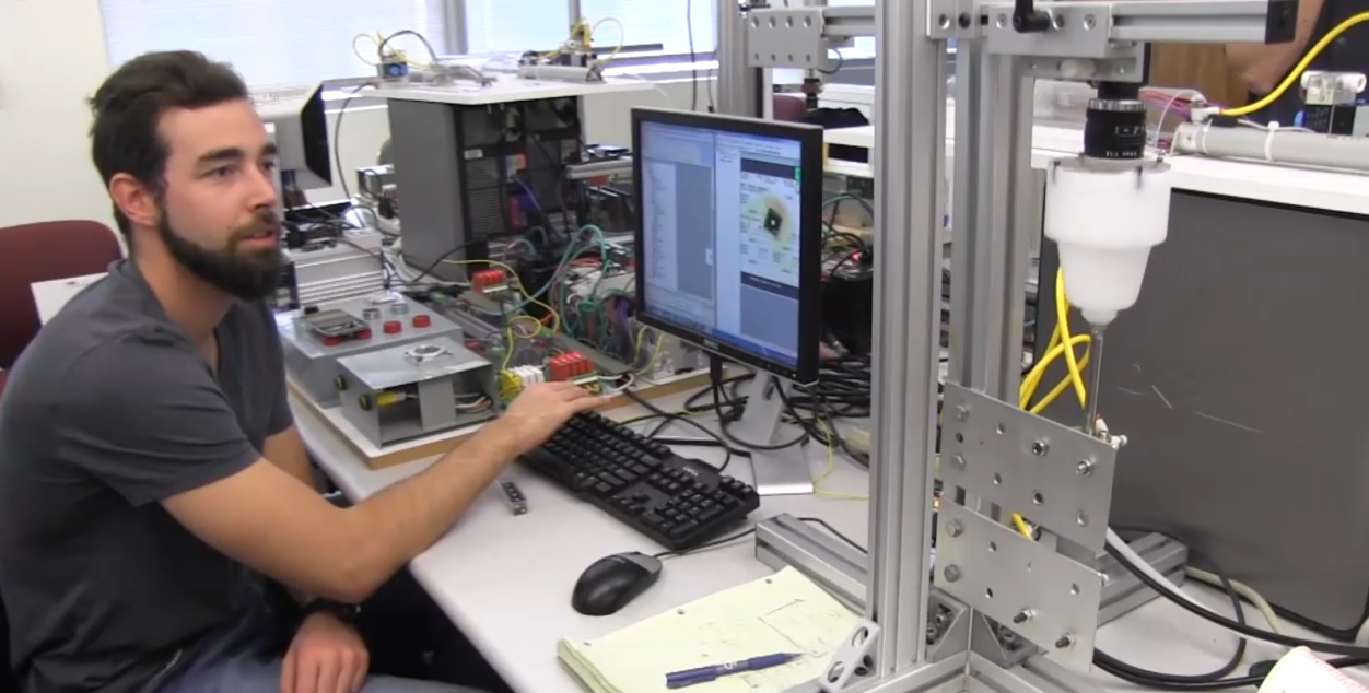 Student in the The Gene Haas Laboratory for Robotics and Automation