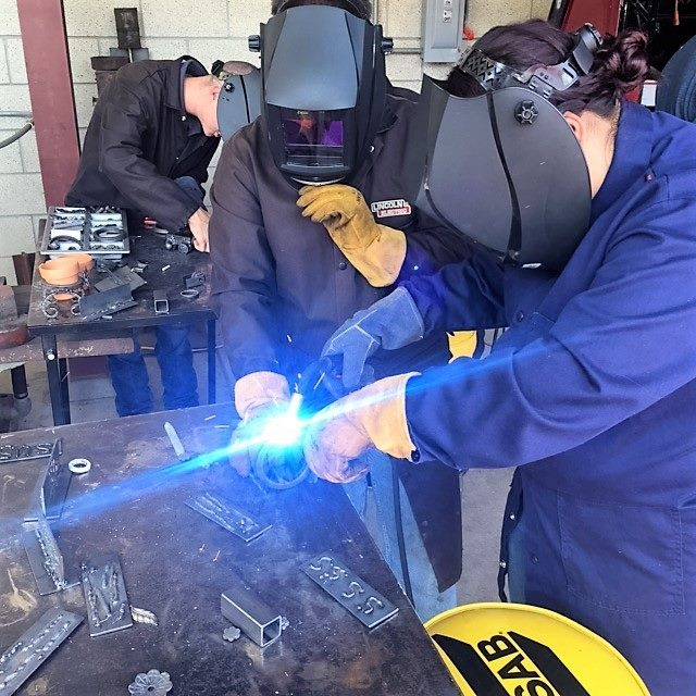 IME student group welding project