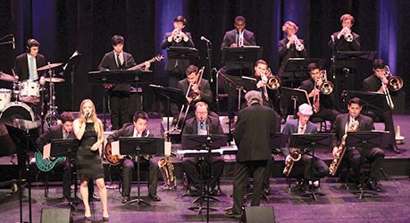 Members of University Jazz Band I