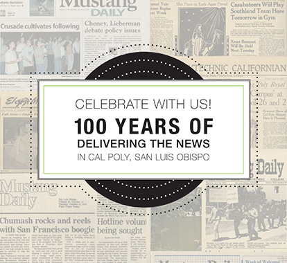 Celebrate 100 years of Mustang News