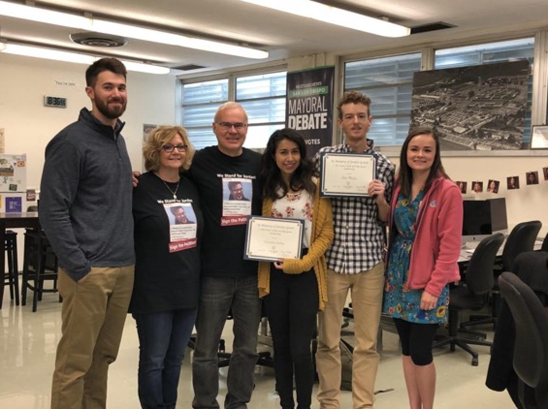 Grant scholarship presentation 2018